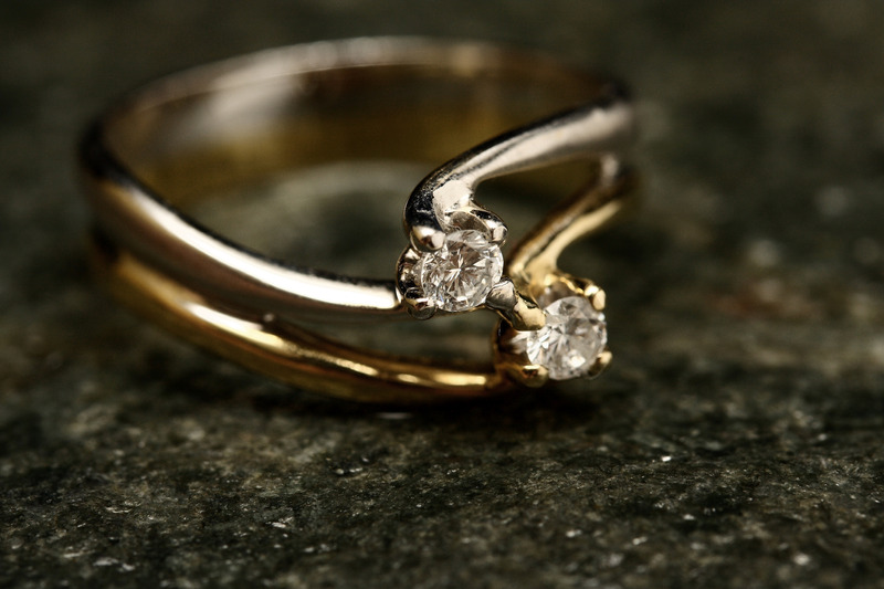 double band engagement rings